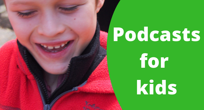 Podcasts for kids at AmandaKendle.com