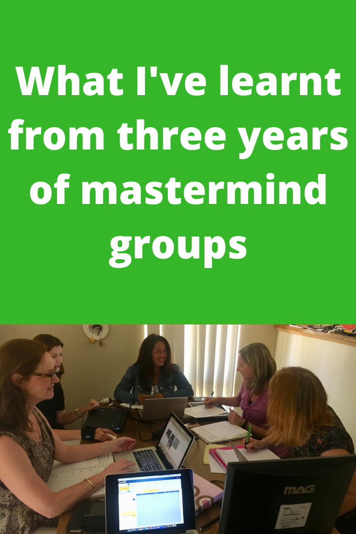 What I've learnt from three years of mastermind groups