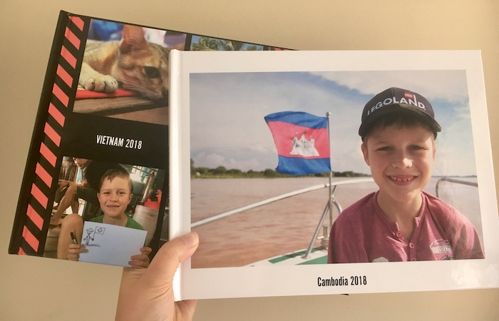 Photo books for Cambodia and Vietnam for 2018